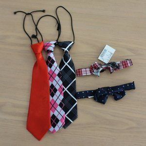 Boy's Tie and Bow Tie Bundle